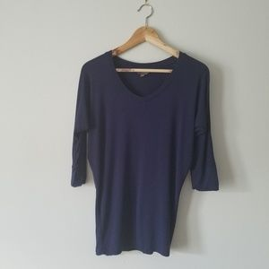 Mix by 41Hawthorn blue dolman sleeve top